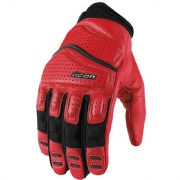 Icon Superduty2 Gloves Red
